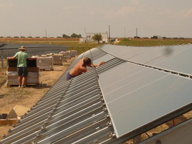 first-solar-impianto-a-terra