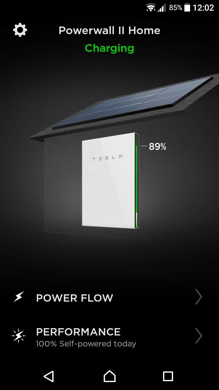 Tesla-powerwall-app-monitoraggio